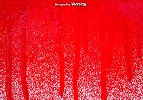 Vector Red Spray Paint Drips Hintergrund