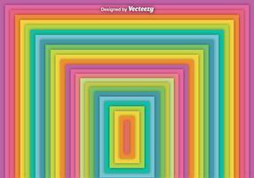Vector Abstract Square Regenbogen Hintergrund