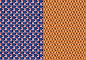 Geometrisches 3D-Vektor-Muster