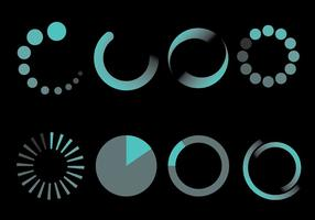 Free Preloader Icons Vektor