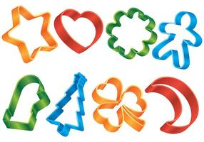Gratis Cookie Cutter Vector