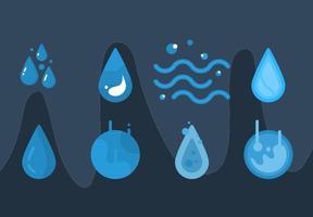 Freie Wasser Vektor Grafik 2