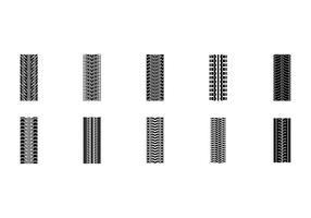 Freie nahtlose Reifenmarkenvektoren vektor