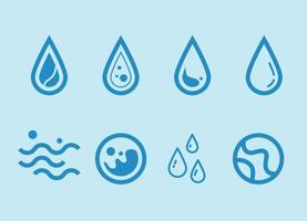Freie Wasser Vektor Grafik 1