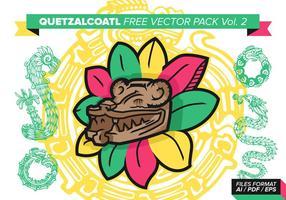 Quetzalcoatl fri vektor pack vol. 2