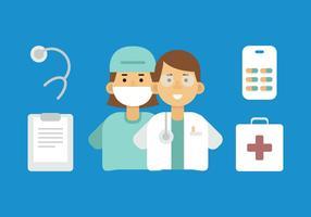 Vektor läkare