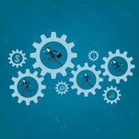 Hintergrund der Geschäftsabwicklung vektor