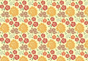Blommigt dekorativt mönster vektor