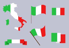 Kostenlose Italien Karte Vektor