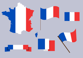 Gratis Frankrike Karta Vector