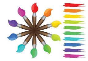 Gratis Färgfärger Vektor