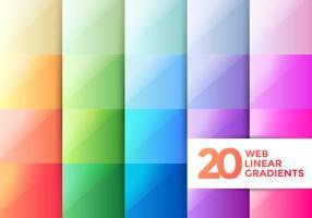 Webblinjära gradienter