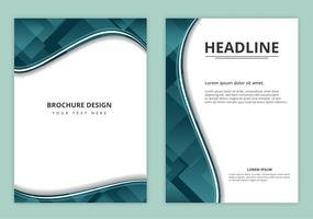 Kostenlose Vector Business Broschüre