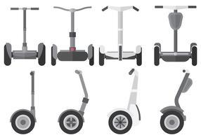 Kostenlose Segway Icons Vektor