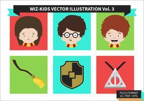 Hogwarts fri vektor pack vol. 3