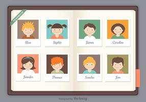 Gratis Yearbook Vector