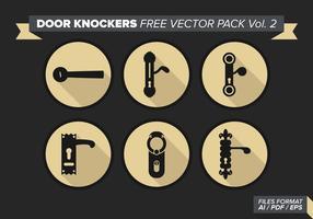 Dörrknockare Gratis Vector Pack Vol. 2