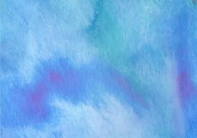 Blå Akvarell Gratis Vektor Bakgrund
