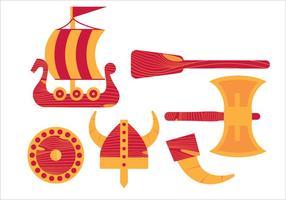 Vektor viking ship