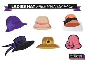 Ladies Hat Gratis Vector Pack