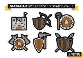 Barbarisk fri vektor pack vol. 6