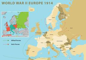 Weltkrieg Europa vektor