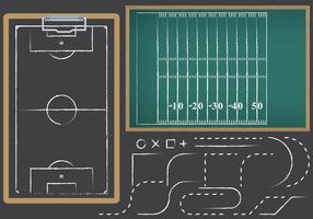 Fußball und Fußball Playbooks