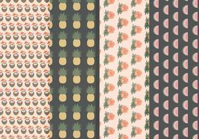 Vektor Hawaii Muster Set