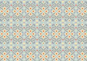 Floral Mosaic Pattern Hintergrund