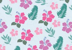 Blommor från Hawaii vektor
