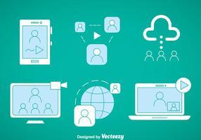 Webinar Element Vektor