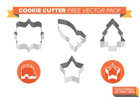 Cookie cutter fri vektor pack