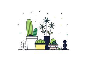 Freier Kaktus Vektor