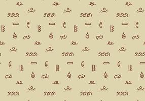 Geometrisches Stammesmuster vektor