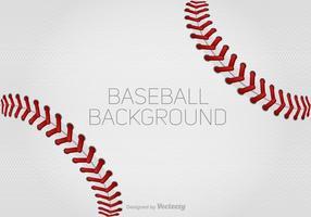 Vector Baseball Schnürsenkel Hintergrund Für Design