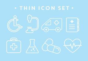 Kostenlose medizinische Icons vektor