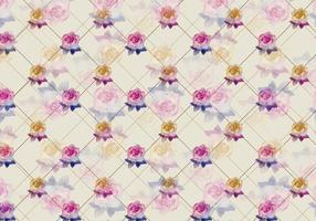 Free Vector Aquarell Rose Hintergrund