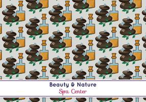 Free Vector Spa Muster