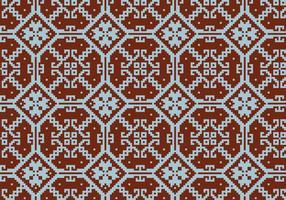 Crosstitch Motif Pattern Bakgrund