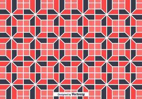 Fliesen mit geometrischen zufälligen Formen Vektor Hintergrund