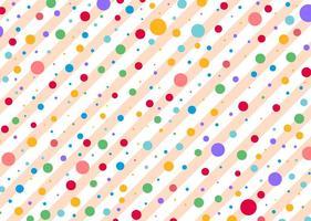 Polka dots vektor mönster