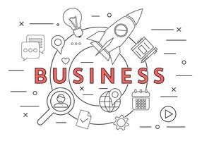 Kostenlose Business Icons vektor