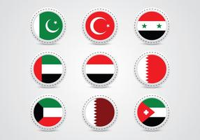 Middle east metal pin