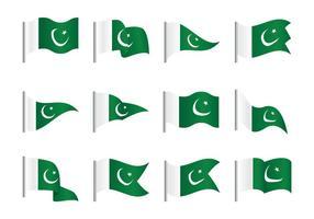 Pakistan Flagge vektor