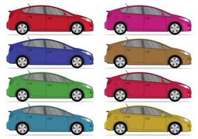 Set von Prius Vektor