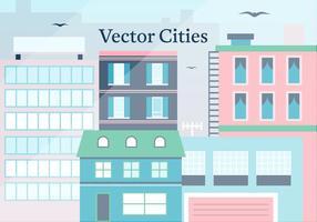 Gratis City Vector Illustration