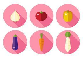 Vektor grönsaker