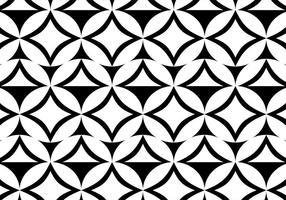 Free Vector Schwarz-Weiß-Muster Hintergrund
