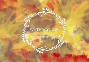Free Vector Warm Aquarell Hintergrund