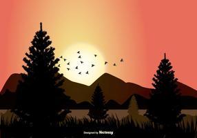 Vektor Landschaft Illustration